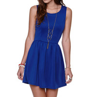 LA Hearts Solid Scuba Fit N Flare Dress at PacSun.com