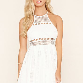 Selfie Leslie Crochet Dress