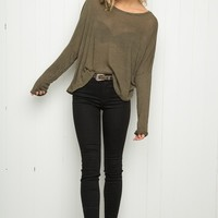 JAZLENE KNIT TOP
