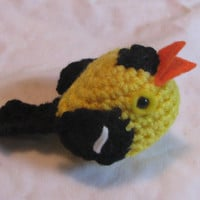 Little Goldfinch by thekeepmecompany on Etsy