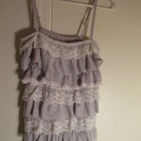 Hollister Co, Summer Clothes Top Grey at 55% off on Tradesy