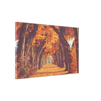 """TunnelTree Lane"" Canvas Print"