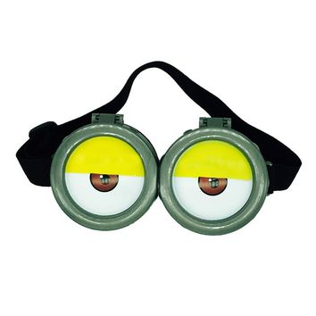 Funny dress up Minions 3D Eye Mask Goggles Glasses Children Favors Party Supplies Cosplay Costume Props Funny Decorative