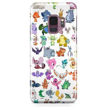 Stitch A Magical World Samsung Galaxy S9 Plus Case | Casefantasy