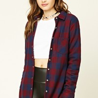 Buffalo Plaid Flannel Jacket