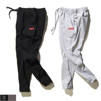 kuyou Supreme Small Box Logo Sweat Pants