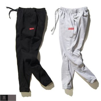 spbest Supreme Small Box Logo Sweat Pants