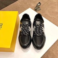 Fendi   Men Casual Shoes Boots  fashionable casual leather Shoes
