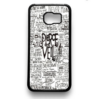Pierce The Veil Song Lyric Samsung Galaxy S6 & S6 Edge Case Xavanza
