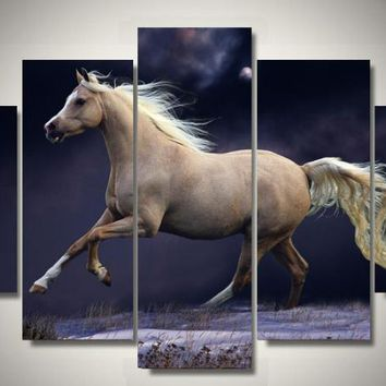 Palomino Beauty 5-Piece Wall Art Canvas