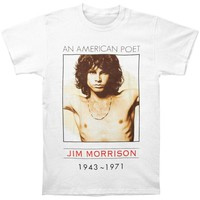 Doors Men's  American Poet T-shirt White