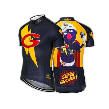 Brainstorm Gear Sesame Street Women's Super Grover Cycling Jersey