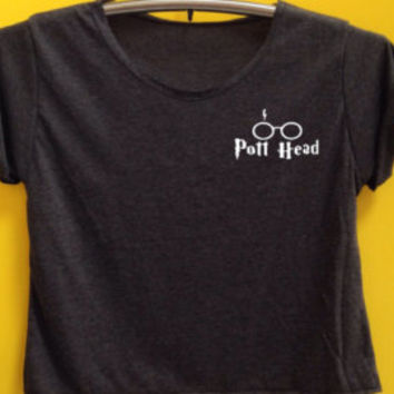 Pott Head Shirt Harry Potter Dope Swag Hipster White Unisex Men Women Tshirt Long Sleeve