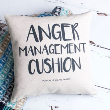 Anger Management Cushion Cover