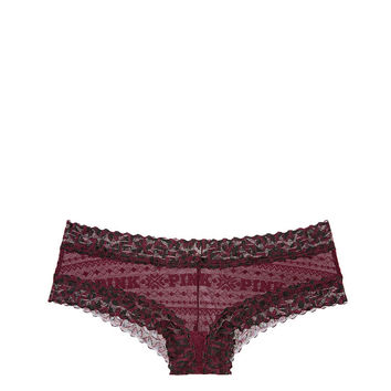 Fair Isle Lace Cheekster - PINK - Victoria's Secret