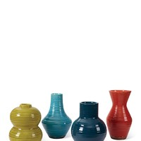 Mod Vases - Set of 4