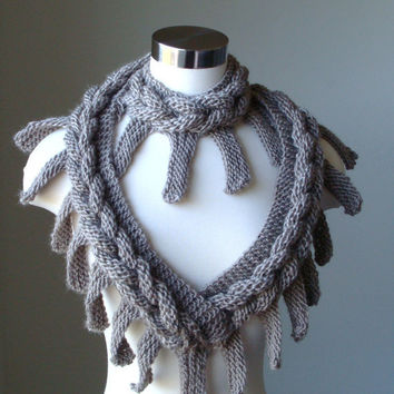 Free Shipping / Solstice Scarf  / Valentine Day / by MODAcrochet