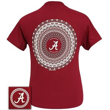 Alabama Crimson Tide Preppy Mandala T-Shirt