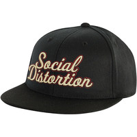 Social Distortion Men's  1979 Skelly Baseball Cap Black