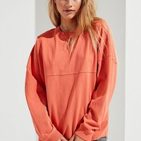 UO Courtland Seamed Long Sleeve Tee | Urban Outfitters