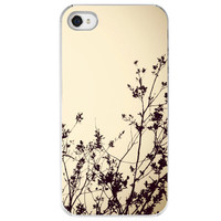 iPhone 4 /4S case Silhouette I tree branches by SkyeZPhotography