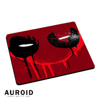 Deadpool Mask Logo Mousepad Mouse Pads Auroid