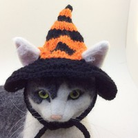 Halloween, witch hat, witches hat, witch hat for cat, hats for cats, cat hats, cat costumes, cat photo prop, Patrikka, pet costumes, cats