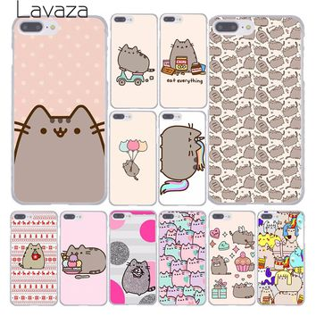 Lavaza cute funny lovely Pusheen Cat Hard Phone Cover Case for A 23ac65a205f2