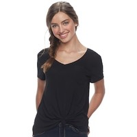 Juniors' SO® Relaxed Pocket Tee | null