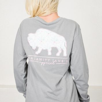 Pale Blush Buffalo | Calamity Jane