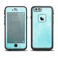 The Vintage Blue Textured Surface Apple iPhone 6 LifeProof Fre Case Skin Set