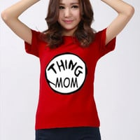 Funny Shirt Thing Mom Thing Dad T-shirt Christmas Costume Thing Shirt Logo Red Men Women Unisex t-Shirt Tee S,M,L,XL #1