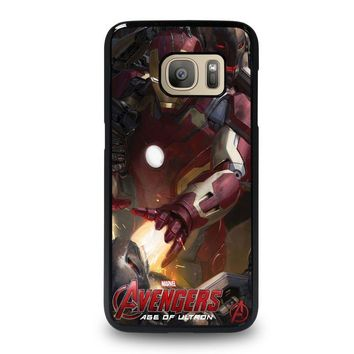 iron man age of ultron 1 samsung galaxy s7 case cover  number 1