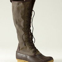 Signature Women's Waxed-Canvas Maine Hunting Shoe, 16 and quot;: Footwear | Free Shipping at L.L.Bean