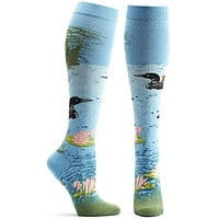 Loon Lake Knee High Sock