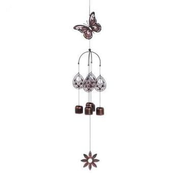 Butterfly Bell Wind Chimes (pack of 1 EA)