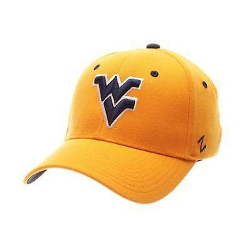 Licensed West Virginia Mountaineers Official NCAA ZH Large Hat Cap by Zephyr 370803 KO_19_1