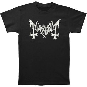 Mayhem Men's  Mayhem Logo Tee T-shirt Black