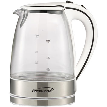 Brentwood Glass Electric Kettle 1.7 Liter