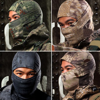 Pullover- Cotton Camouflage Reptilian Full Face Masks