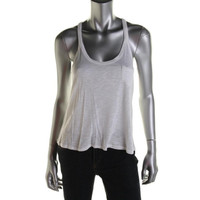 American Rag Womens Slub T-Back Tank Top