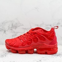 Nike Air Vapormax Plus Tm Gym Red Sneakers - Best Deal Online