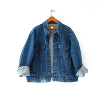 Vintage LEVIS Jean Jacket. Denim Jacket. Worn in Levis Jacket.