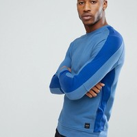 Only & Sons Sweatshirt With Cut And Sew Detailing at asos.com