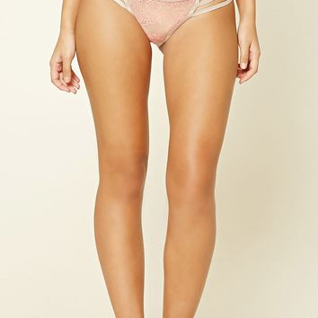 Strappy Lace Cheeky Panty