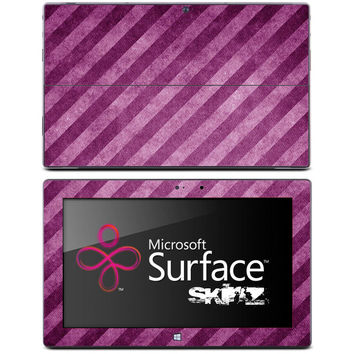 Pink & Purple Stripes Skin for the Microsoft Surface