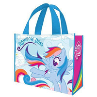Vandor 42273 My Little Pony Rainbow Dash Large Recycled Shopper Tote, Multicolor