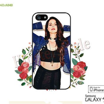 lana del rey Phone Cases, iPhone 5/5S Case, iPhone 5C Case, iPhone 4/4S Case, Phone covers, lana del rey Case for iPhone-A040