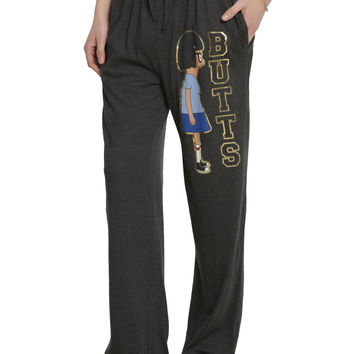 Bob's Burgers Tina Gold Foil Butts Guys Pajama Pants