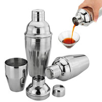 New Stainless Steel kitchen accessories Cocktail Shaker Wine Beverage Mixer E2shopping